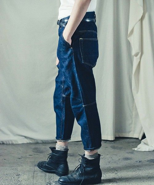 suzuki takayuki(スズキタカユキ)のdenim pants I(デニムパンツ) 詳細画像
