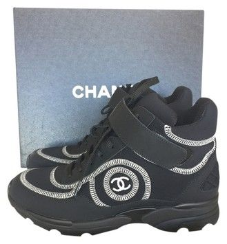 White Chanel Tennis Shoes