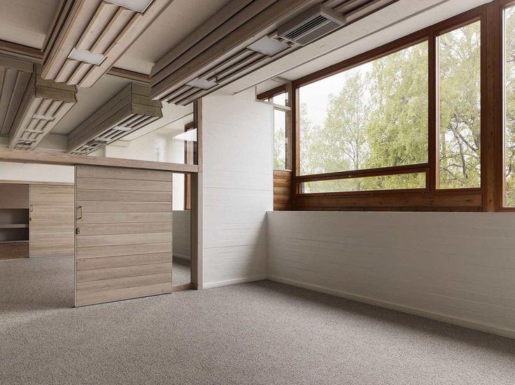 Gallery of Dipoli - Aalto University Main Building / ALA Architects - 7