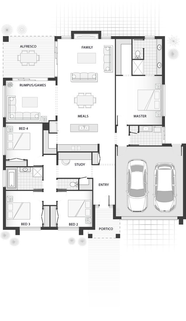 22 best floor plans images on Pinterest | Plants, Projects and ...