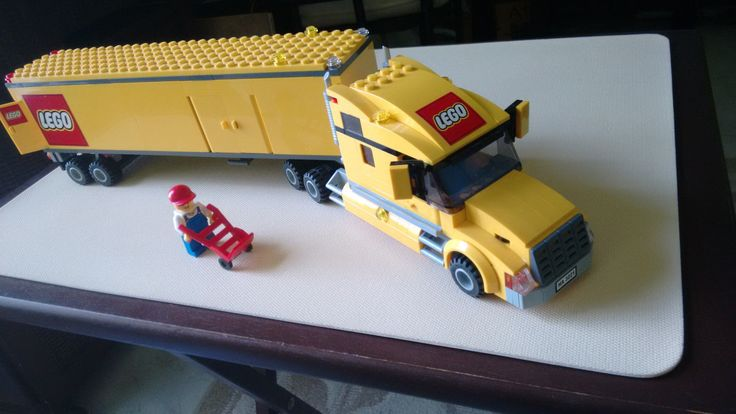 Lego City Truck (3221) with manual