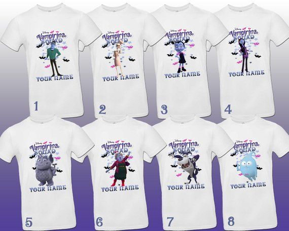 177b7653b Vampirina shirts , Vampirina family t-shirts , Vampirina custom shirt ,  Vampirina party shirts , Vampirina Birthday shirts , Disney t-shirts