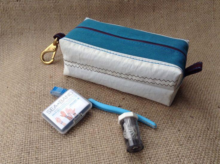 Sail Cloth Toiletry Bag, Dopp Kit by BreakwaterCo on Etsy https://www.etsy.com/listing/210702893/sail-cloth-toiletry-bag-dopp-kit