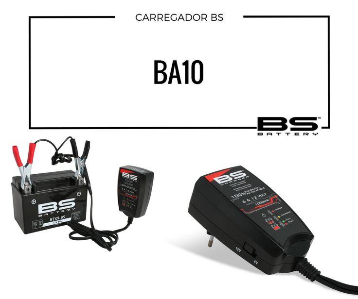 CARREGADOR BATERIAS BS BA10 O carregador BS BA10 foi projetado para baterias de moto: pequeno, seguro e fácil de usar.  Vá já a um agente perto de si! #lusomotos #BS #bsbattery #bateria #BA10 #moto #pequeno #seguro #fácildeusar #carregadordebateria