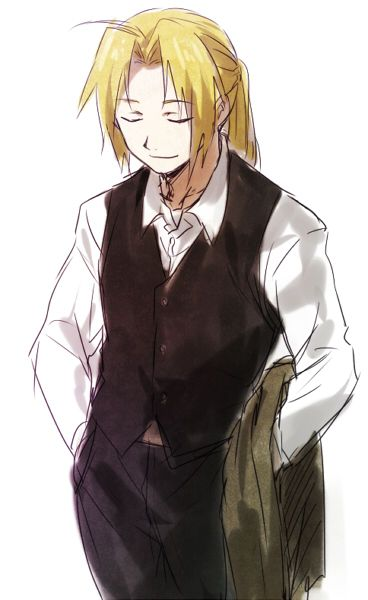 Edward Elric as a butle!!!!!!!!!! bwahahahahah no.