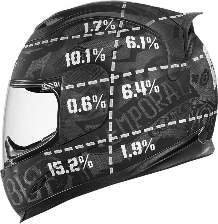 Icon Airframe Statistic Helm - FC-Moto.de