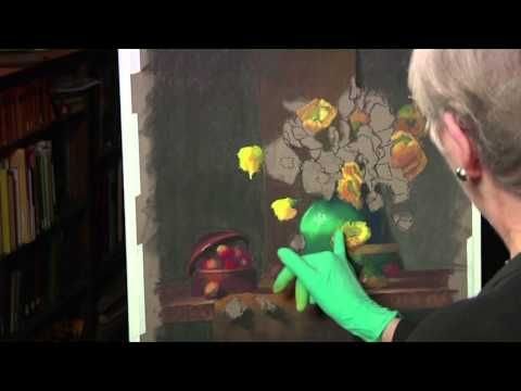 Pastel Painting Techniques: Still Life Flowers With Claudia Seymour PREVIEW