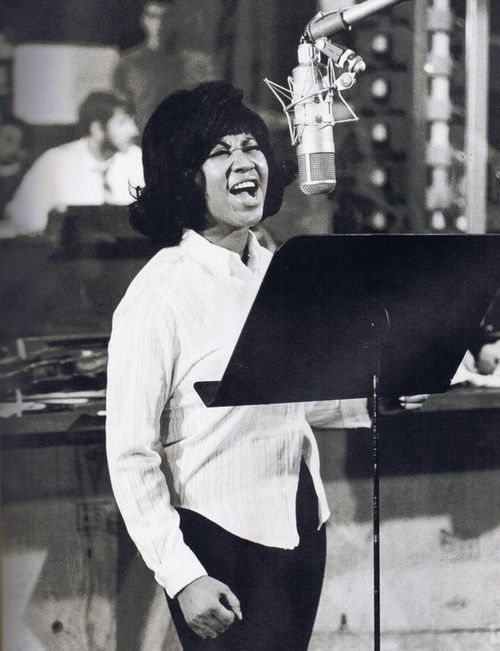 I sing to the realists; people who accept it like it is - Aretha Franklin