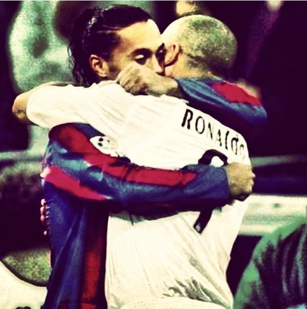 Ronaldo and Ronaldinho  FC Barcelona and Real Madrid
