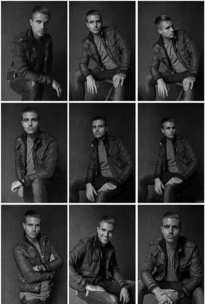 Mann wirft Fotografieideen auf 96   – Modeling