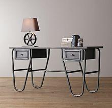 Американский в стиле кантри утюг стол чердак ржавчины сделать старый деревянный стол компьютерный стол французский стол(China (Mainland))