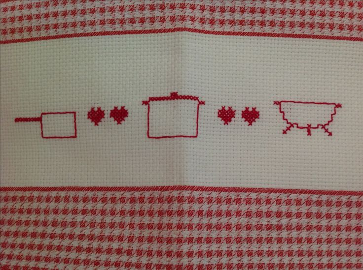 Ready for Mountain Kitchen #MountainKitchen #crossstitch