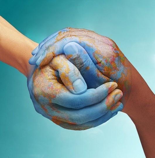 hands in earth