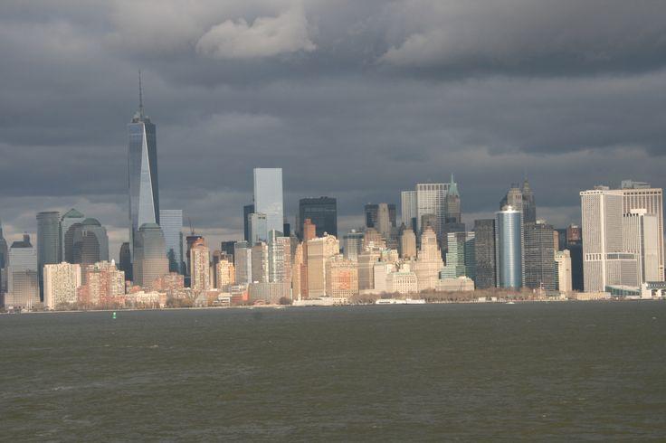 Schiffsfahrt; New York; Manhattan