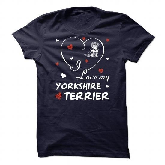 Yorkshire Terrier T Shirts, Hoodies. Check price ==► https://www.sunfrog.com/Pets/Yorkshire-Terrier-111128745-Guys.html?41382