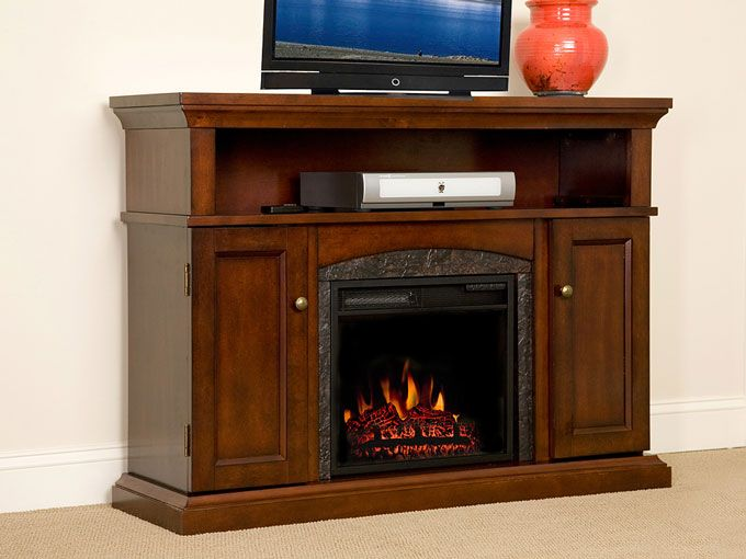 Chimneyfree Lynwood Infrared Electric Fireplace Media