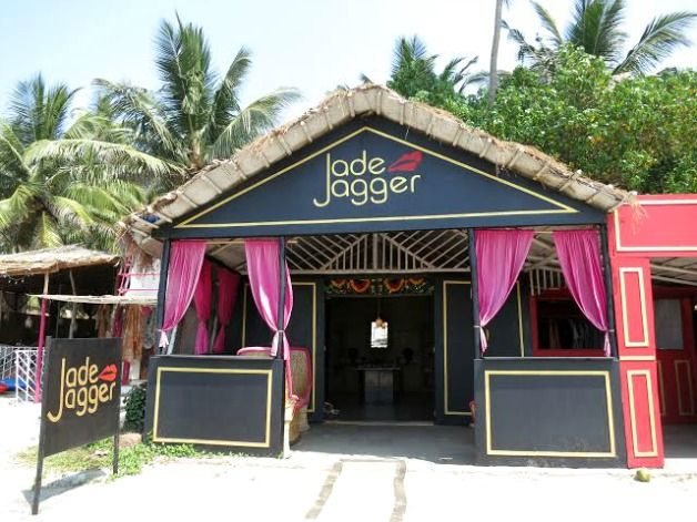 JADE JAGGER Internationally acclaimed designer with global boutique locations, Jade Jagger has a swanky little shop right on the beach alongside these other boutiques.