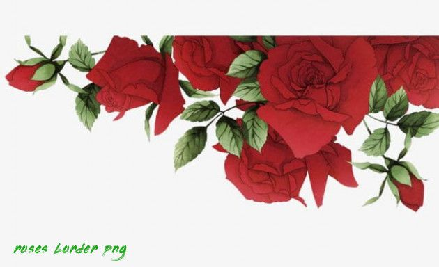 The 13 Secrets About Roses Border Png Only A Handful Of People Know Roses Border Png Https Www Flowern Flower Border Clipart Flower Wallpaper Flower Border