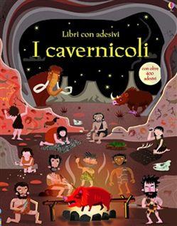 I #cavernicoli. con adesivi fiona watt  ad Euro 6.37 in #Usborne #Media libri ragazzi 3 5 anni