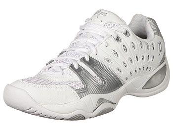 Prince T22 White/Silver Women's Shoes