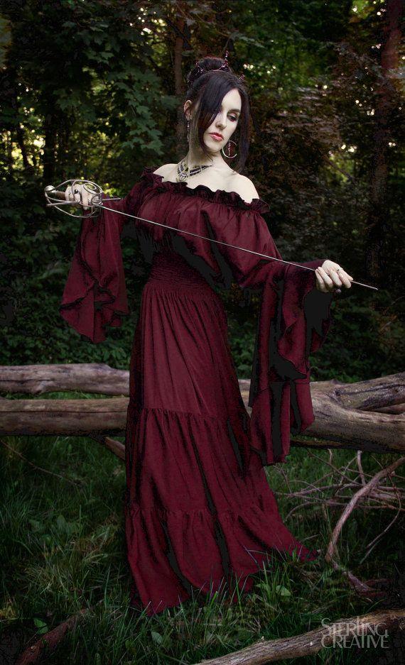 Renaissance Medieval Costume Mythic Mystic by ReminisceShoppe