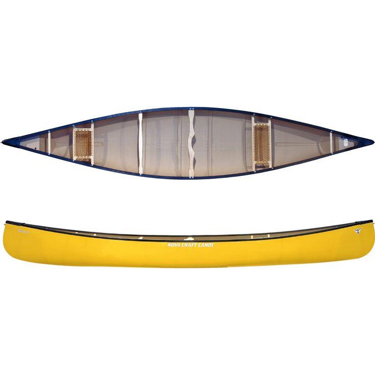 Prospector 15 TuffStuff/Aluminum Canoe Yellow