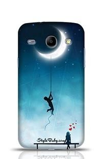 Amorous Exploits Love Background Samsung Galaxy Core i8262 Phone Case