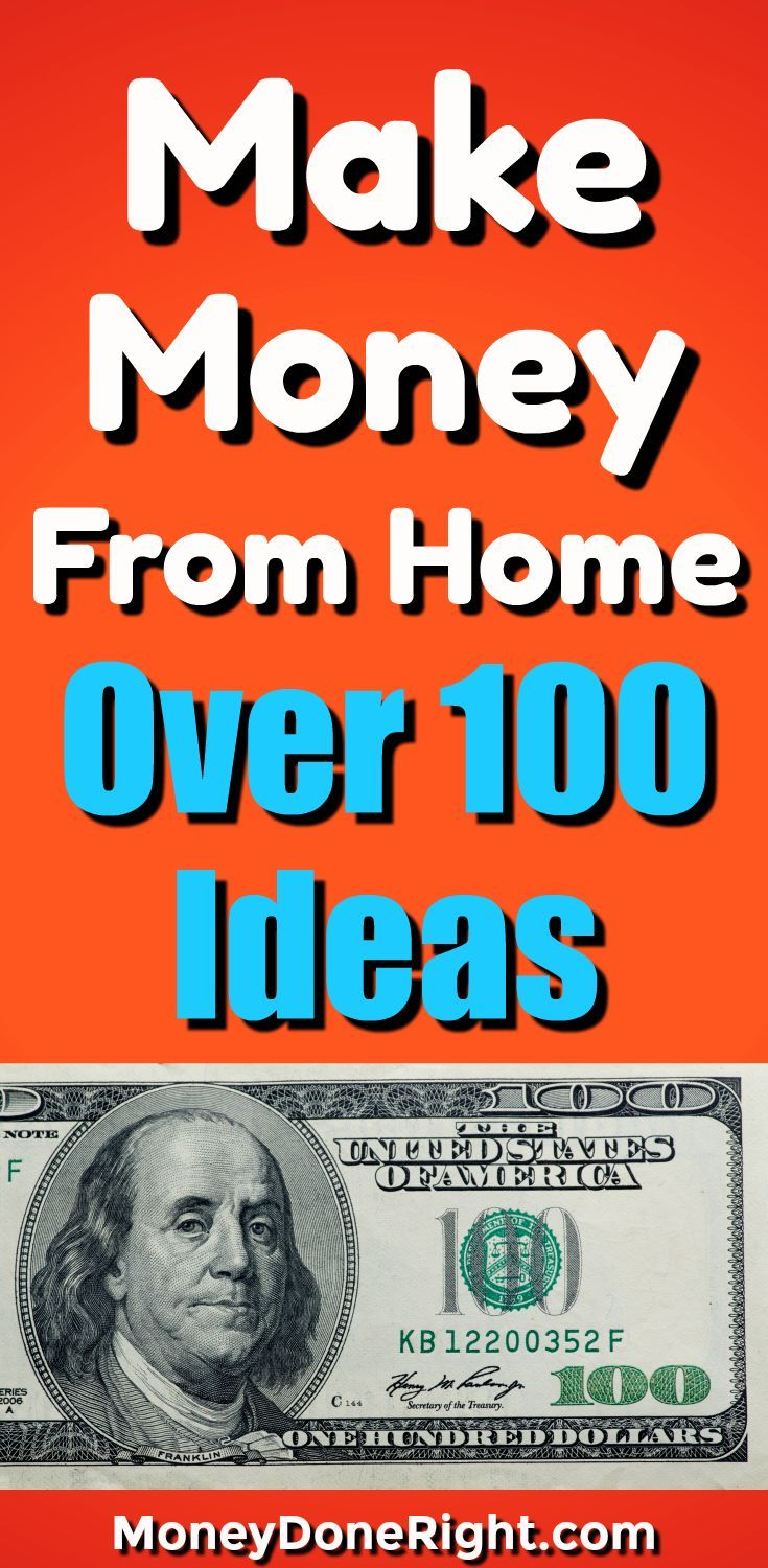 Looking for ways to make money at home? In this article, I have listed the top ways to make money on the side. There are ways to earn money online, ways to earn money around the house, ways to earn money on your phone, and over 100 other ways to earn money.