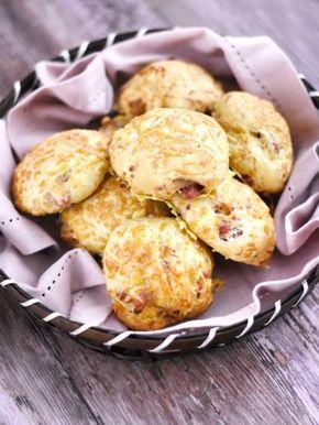 Petits pains lardons - comté - Recette de cuisine Marmiton : une recette