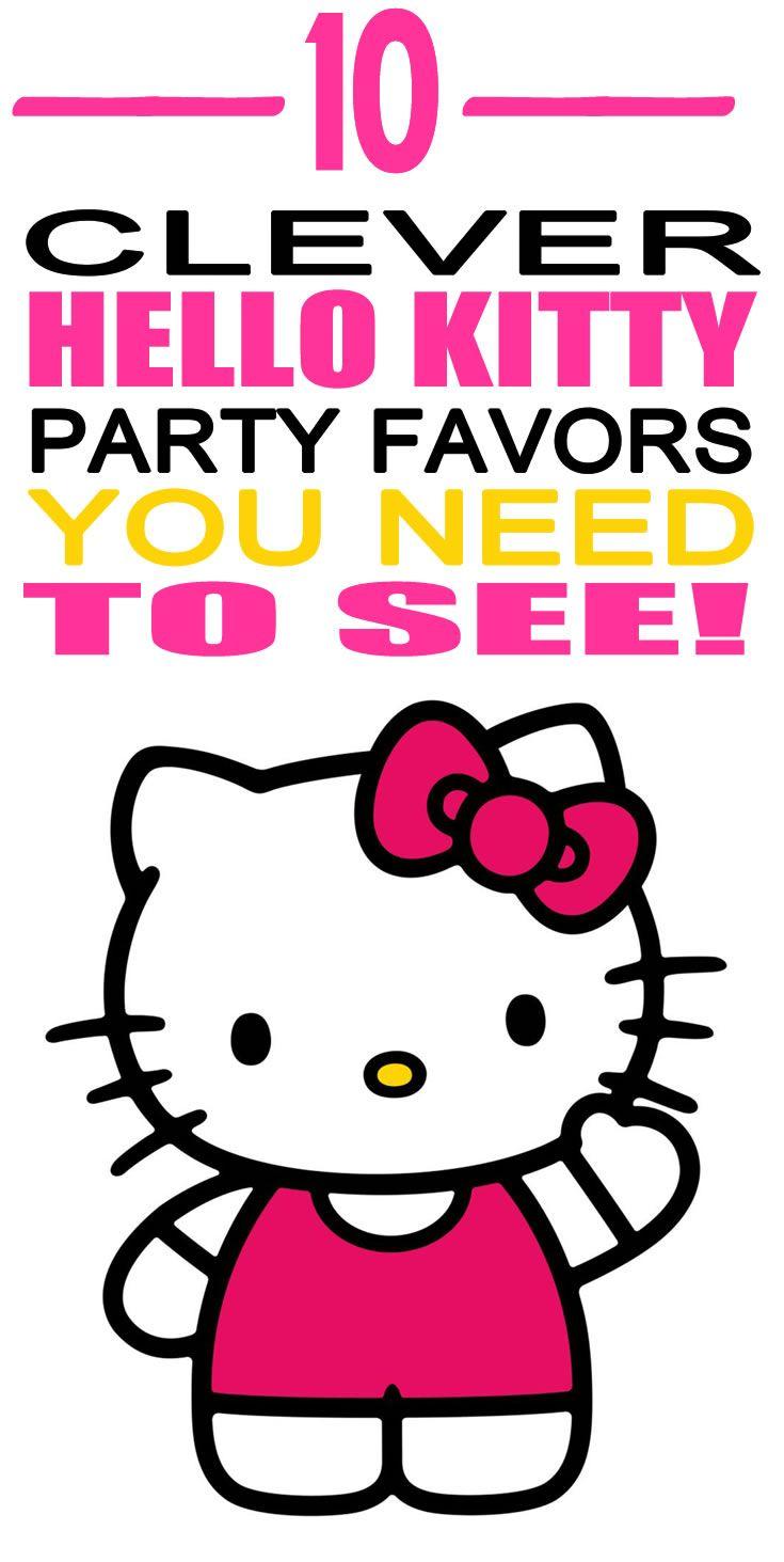 Hello Kitty Birthday Party Favor Ideas!