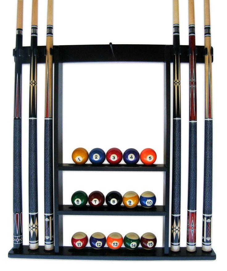 Accessoires Billard Queue Rack Décoration Intérieur Équipement Piscine Durable