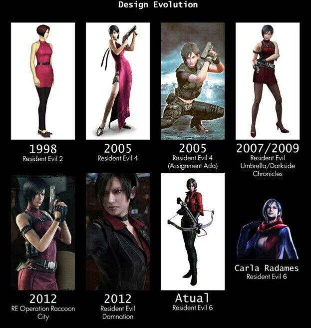 Ada Wong through the years