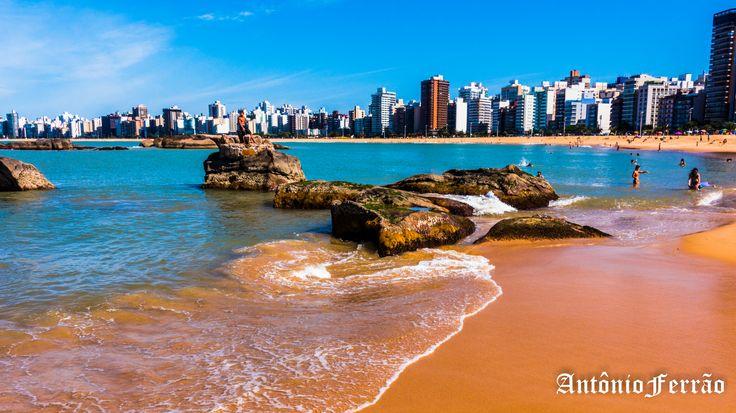 Praia da Costa   por Antônio Ferrão