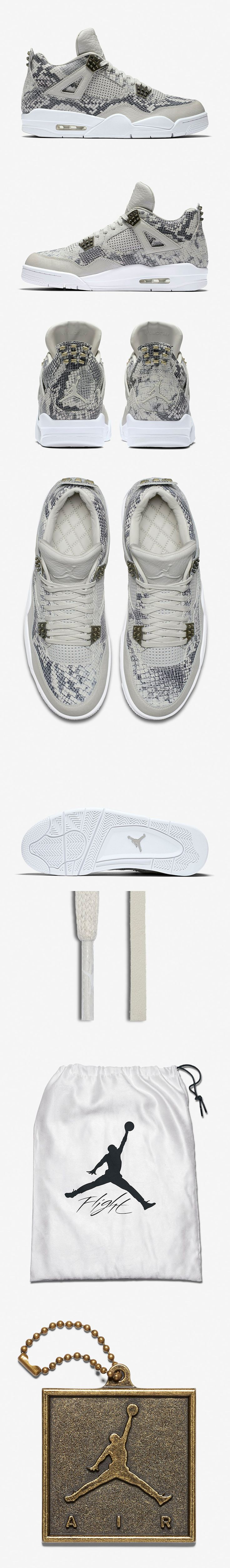 Air Jordan 4 Retro Premium Snakeskin - EU Kicks: Sneaker Magazine