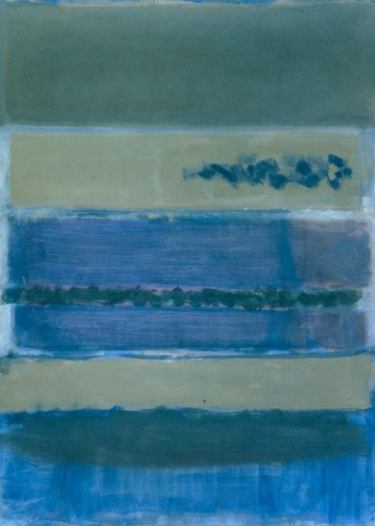 Untitled, 1948. Mark Rothko
