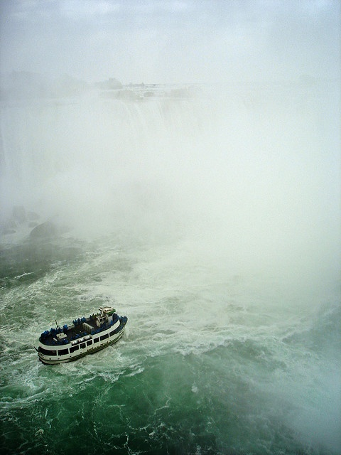 """Where to #travel in #Canada: #Niagara #Falls, #Ontario, along with with its sister city Niagara Falls, New York, is the self-proclaimed """"#Honeymoon Capital of the World."""" For hundreds of years the grandeur of the Falls of the Niagara River have attracted many to this destination. Plan your trip: http://georama.com/#Explore/Canada/Niagara-Falls/Plan/Info"""