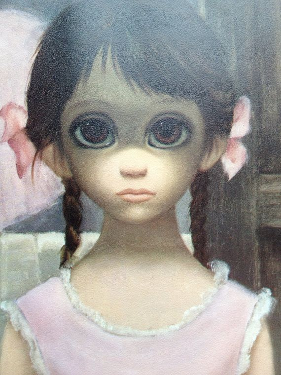 The Reluctant Ballerina by Walter Keane (1963)