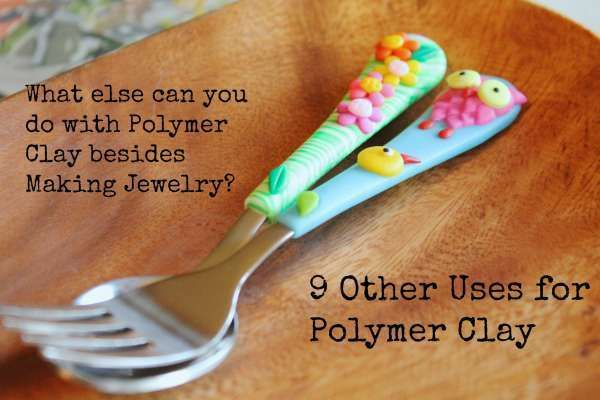 What to Do with Polymer Clay Besides Making Jewelry - these are gorgeous! and so easy to make!!!