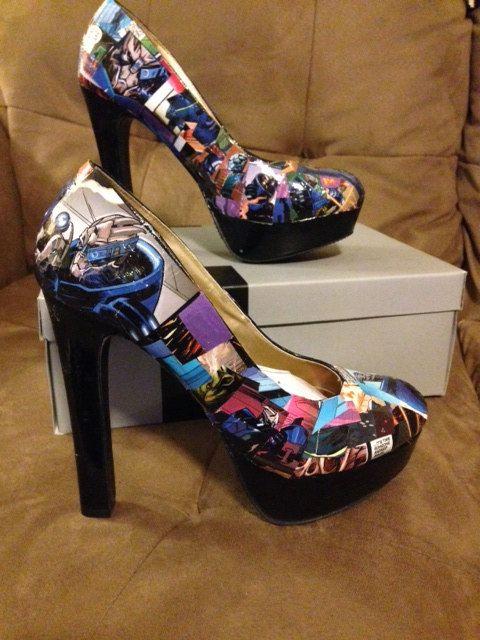 Garrus Vakarian shoes  http://www.etsy.com/listing/165814882/mass-effect-garrus-vakarian-shoes