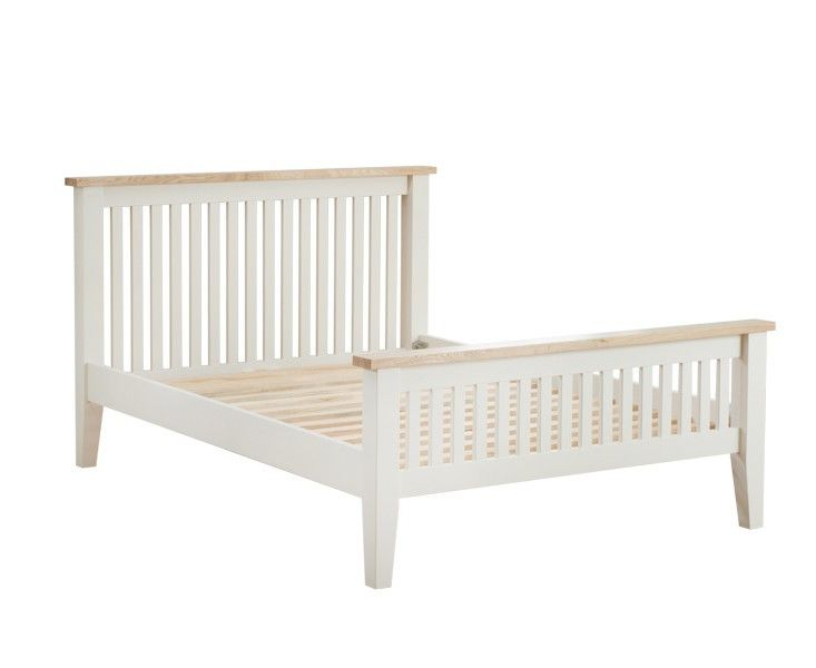 Canvey 4ft 6 Double Bed Frame  The Canvey Double bed attributes tight slats on each the headboard and higher foot finish and tapered feet.   https://www.bonsoni.com/canvey-4ft-6-double-bed-frame