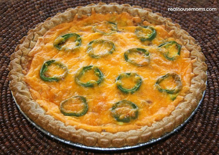 Bacon Jalapeno Popper Quiche. Not really low carb, but it looks so ...