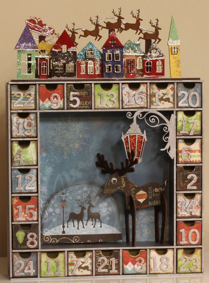 Jo Johnson - Jo -  Kaisercraft Advent Calendar