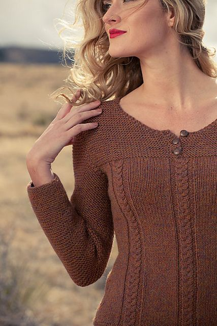 Ravelry: Alison Pullover pattern by Cassie Castillo