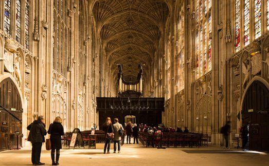 Visit Cambridge - King's College Chapel