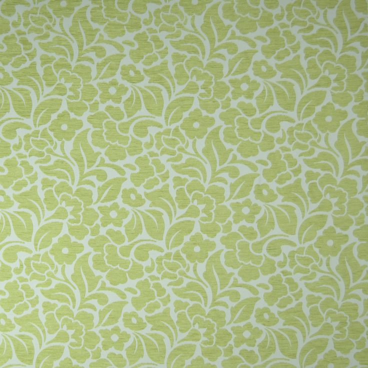 Warwick Fabrics : ABBOTSFORD, Colour APPLE