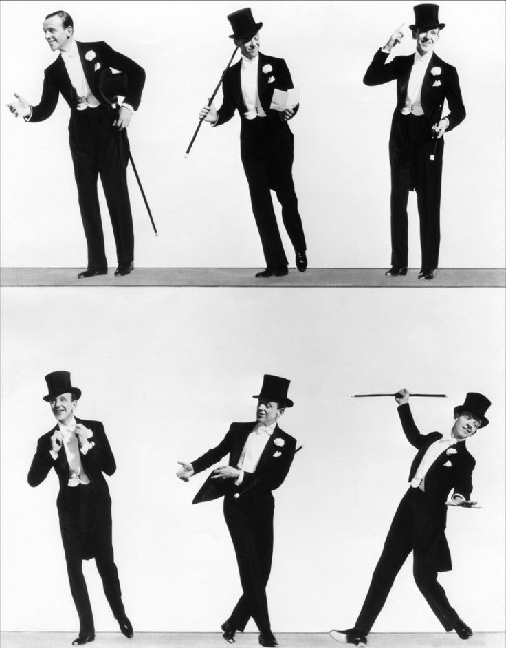 Fred Astaire shows how to dance!