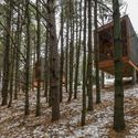 Cabañas campistas del parque regional Whitetail Woods / HGA Architects and Engineers Cabañas campistas del parque regional Whitetail Woods / HGA Architects and Engineers