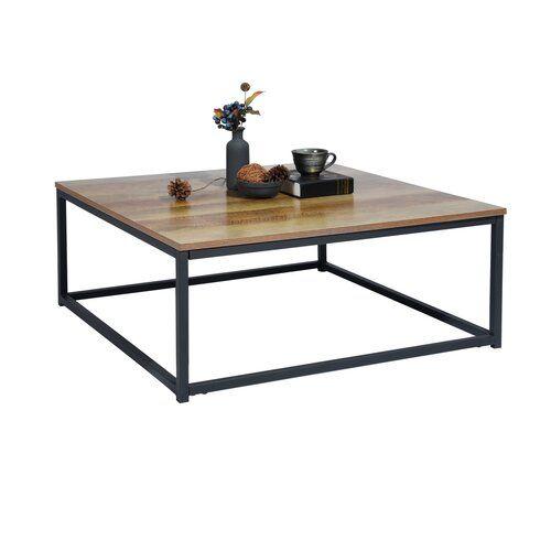 Belknap Coffee Table 17 Stories In 2020 Table Wood Metal