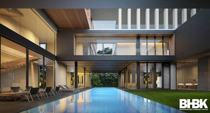 Private Residence | Area 3,500 Sq.m. Design by : Korn BROWNHOUSES / BHBK