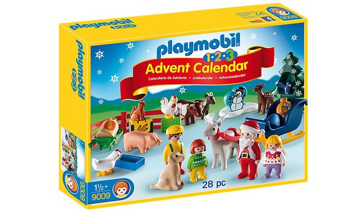 The Playmobil Christmas on the Farm Advent Calendar is the perfect way to count down to Christmas. Santa Claus and his Reindeer are coming to Christmas on th...
